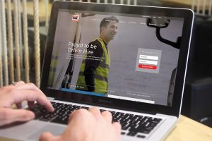 Driver Hire Website Design