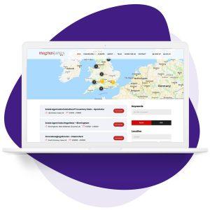 Advanced job listings feature for recruitment websites