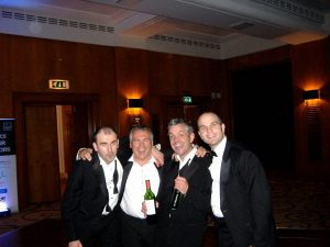 Wave team at the CIPD awards 2010