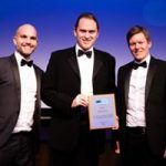 Dave Jenkins with award winners Kelly Services